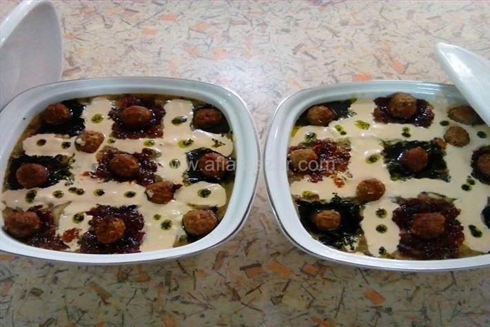 آش سه نگه سیر ( غذای محلی کردستان )